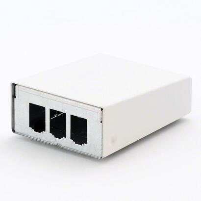 modulo-metz-connect-montado-en-superficie-carcasa-blanco-puro-de-3-puertos