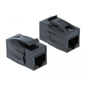 adaptador-delock-keystone-rj45-to-rj45-cat6a-utp-black