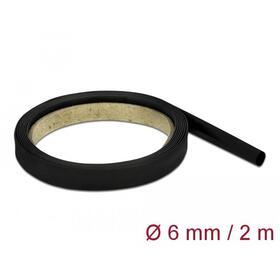 delock-tubo-termorretractil-2-m-x-6-mm-relacion-de-contraccion-41-negro