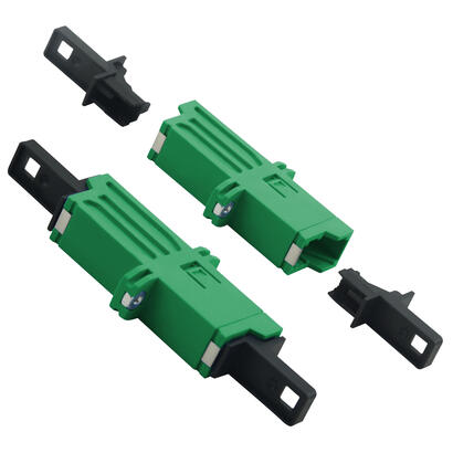 helos-lwl-kupplung-e2000-apc-8-lsh-simplex-singlemode-os2-verde