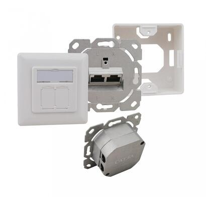 caja-de-conexiones-helos-cat-6a-eia-tia-ap-up-2-puertos-horizontal-blanco-puro