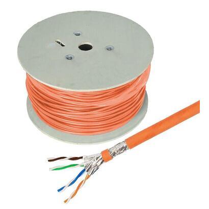 cable-de-red-helos-high-quality-cat-7-s-ftp-pimf-lszh-naranja-tambor-500-m