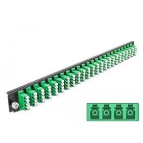delock-panel-frontal-de-la-caja-de-empalme-de-19-24-port-lc-quad-verde