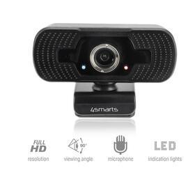 4smarts-webcam-c1-full-hd-microfono-negro