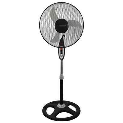 esperanza-ehf002ke-ventilador-de-pie-de-16-negro-y-gris