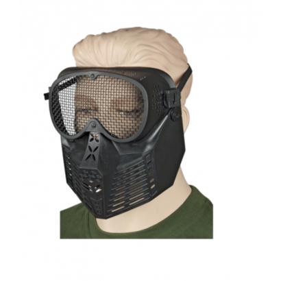 mascara-rejilla-negra-pvc-uso-ornamenta