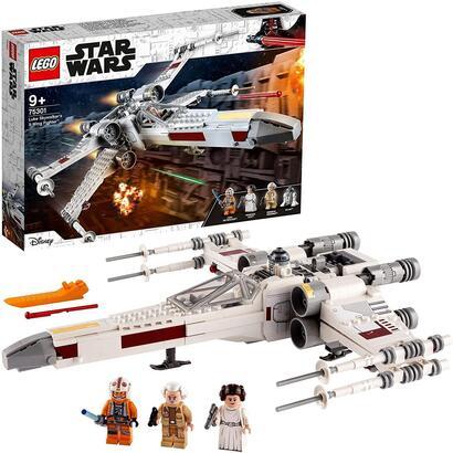 lego-75301-star-wars-caza-ala-x-de-luke-skywalker-con-figura-de-princesa-leia-y-r2-d2-droide