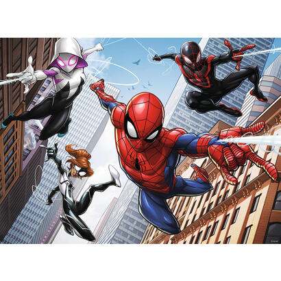 spiderman-puzzle-the-powers-of-the-spider-200-piezas