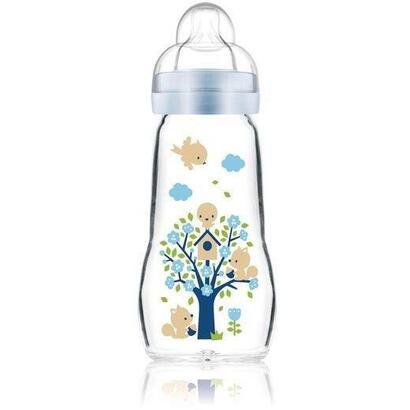 biberon-de-vidrio-mam-260-ml-0-a-6-meses-flow-teat-2-azul