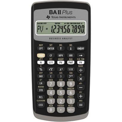 calculadora-financiera-texas-instruments-ba-ii-plus-negra