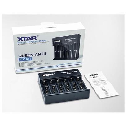 xtar-cargador-baterias-ion-litio-queen-antii-mc6ii