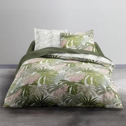 today-juego-de-cama-doble-220-x-240-cm-crazy-amana-jungle-green-print