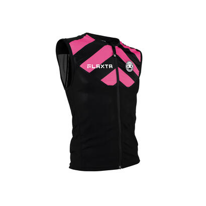 flaxta-junior-protection-vest-pink-l