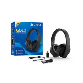 sony-auricularesmicro-wireless-ps4-gold-negros