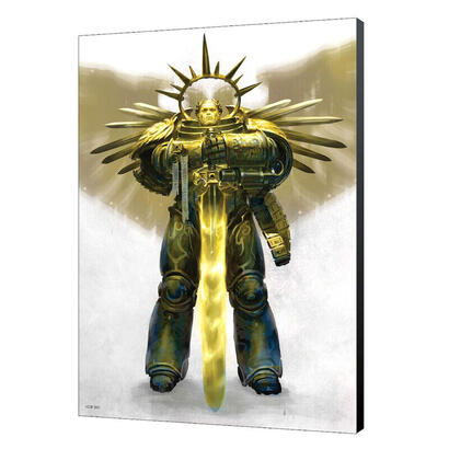 cuadro-madera-guilliman-ascend-warhammer-40000