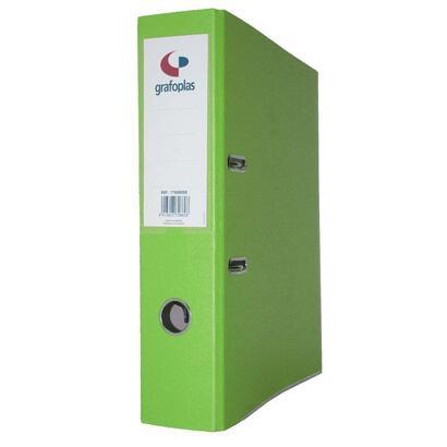 grafoplas-archivador-con-palanca-de-45mm-din-a4-carton-de-25-mm-grafcolor-verde