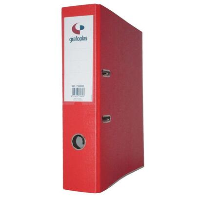 grafoplas-archivador-con-palanca-de-65mm-folio-carton-de-25-mm-grafcolor-rojo