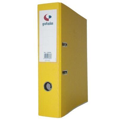 grafoplas-archivador-con-palanca-de-65mm-folio-carton-de-25-mm-grafcolor-amarillo