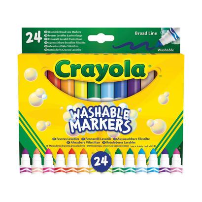 set-24-rotuladores-lavables-maxi-punta-crayola