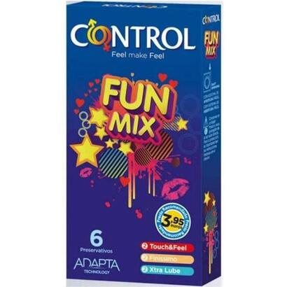 control-preservativos-fun-mix-6-uds