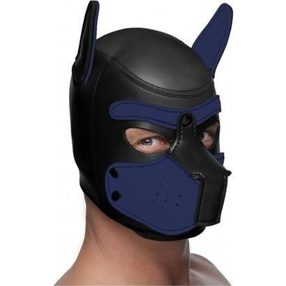 capucha-neopreno-spike-puppy-negro-y-azul