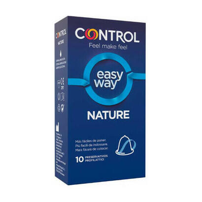 control-preservativos-new-nature-easy-way-10uds