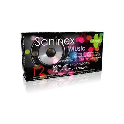 saninex-preservativos-music-punteados-12uds
