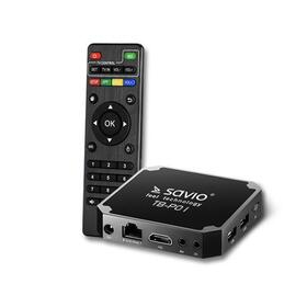 savio-smart-tv-box-premium-one-tb-p01-216-gb-android-71-hdmi-v20-4k-usb-wifi-sd