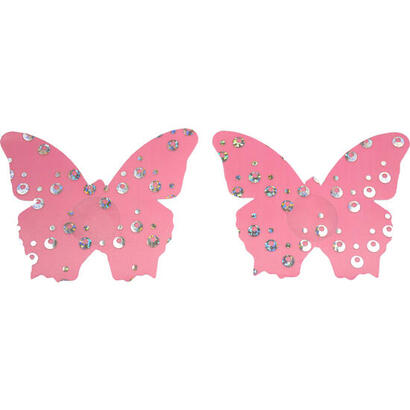 caramel-nuit-pezoneras-shiny-butterfly-rosa