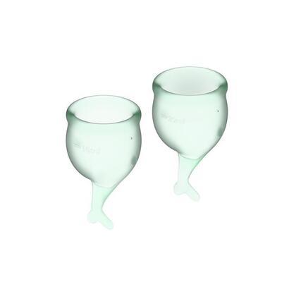 copas-menstruales-feel-secure-light-green-pack-de-2