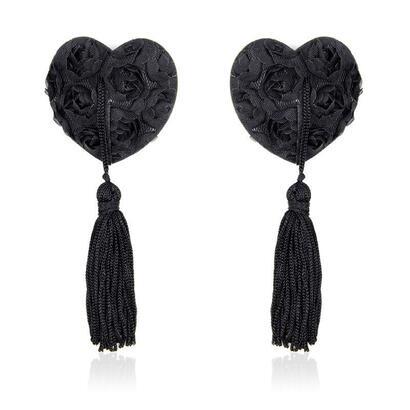pezoneras-con-encaje-y-patron-floral-negro