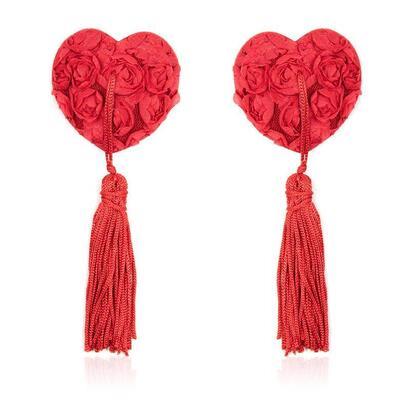 pezoneras-con-encaje-y-patron-floral-rojo