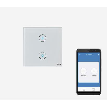 doble-interruptor-inteligente-spc-hemera-wifi-24-ghz-potencia-maxima-800w-app-spc-iot