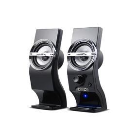 audiocore-ac805-computer-altavoz-6w-usb-black