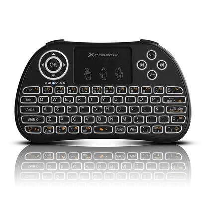 mini-teclado-inalambrico-wireless-24ghz-phoenix-touchpad-multimedia-smart-tv-tvbox-android-tv-color-negro