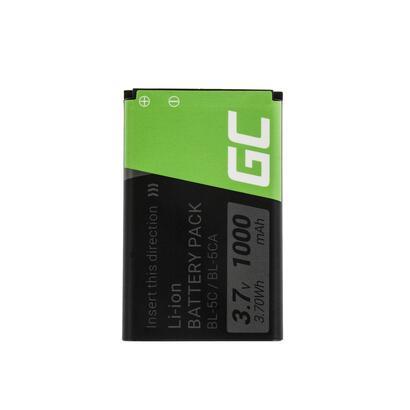 bateria-green-cell-bp-5c-para-nokia-1200-1800-2600-3610-6600-e50-n91