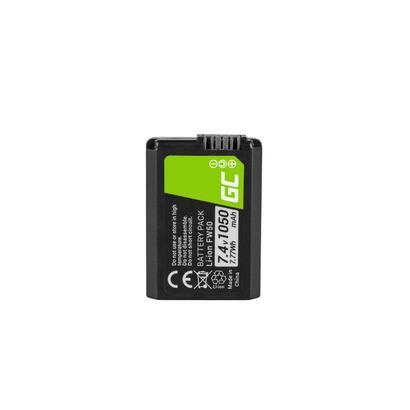 bateria-green-cell-fw50-para-sony-alpha-a7-a7-ii-a7r-a7r-ii-a7s-a7s-ii-a5000-a5100-a6000-a6300-a6500-74v-1050ma