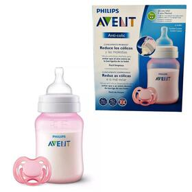 philips-avent-set-regalo-biberonchupete-0-6-meses-rosa