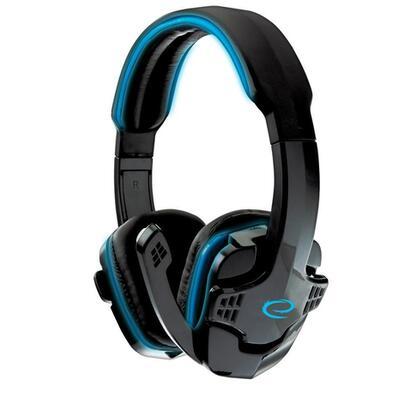 esperanza-egh310b-raven-auriculares-estereo-con-microfono-gaming-azul