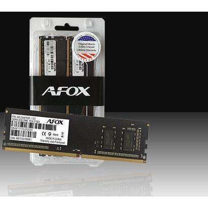 afox-ddr2-2x2gb-800mhz