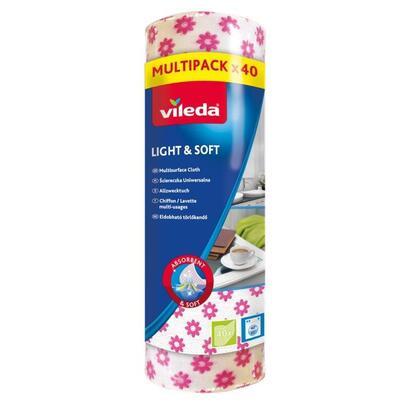 wipe-on-a-roll-vileda-lightsoft-40-roll-white-color