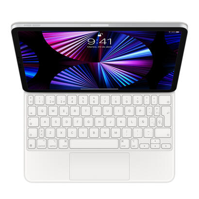 apple-magic-keyboard-for-ipad-pro-11-3rd-generation-and-ipad-air-4th-generation-spanish-white