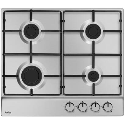 amica-pga6100bpr-hob-stainless-steel-built-in-gas-4-zones