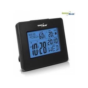 greenblue-estacion-meteorologica-reloj-luna-calendario-gb144-negro