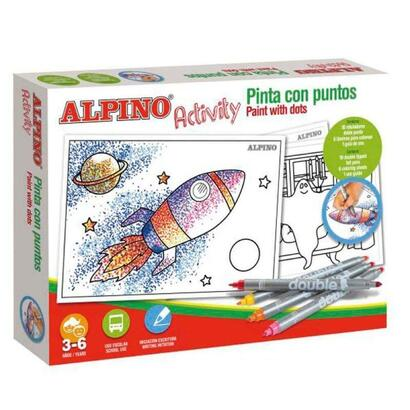 estuche-de-10-rotuladores-alpino-activity-6-laminas-para-colorear