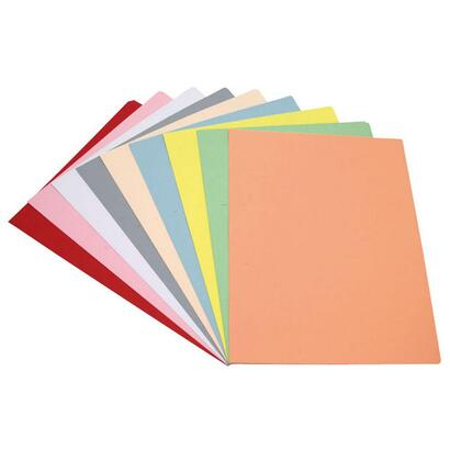grafoplas-pack-50-subcarpetas-a4-cartulina-180g-amarillo-pastel