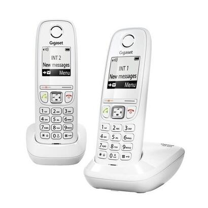 telefono-inalambrico-siemens-gigaset-as405-duo-blanco