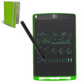 leotec-mini-pizarra-digital-sketchboard-eight-green-851-pantalla-lcd-lapiz-optico-incluido-bateria-iman-trasero-funda