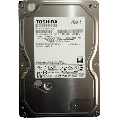 reacondicionado-hd-toshiba-500gb-sata-dt01aca050-6m-garantia