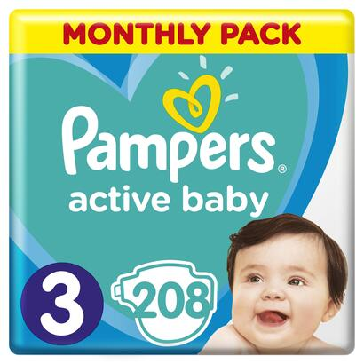 pampers-panales-monthly-box-talla-3-6-10-kg-208-unidades